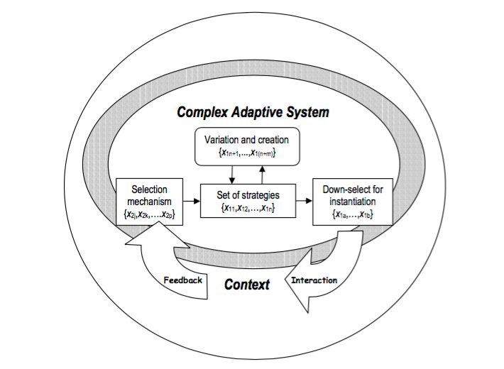 Designing Complex Adaptive Systems for Defence