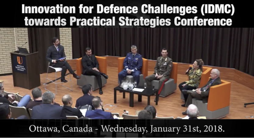Advanced Military Design, Panel of International Experts: IMDC Conference, Ottawa, CA